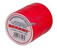 Изолента 15мм х 25м красная REXANT